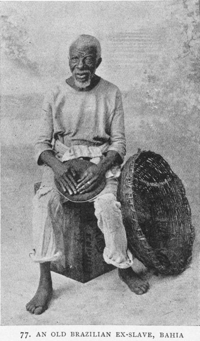 Homem negro liberto na Bahia em 1910