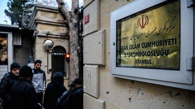 کنسولگری ایران در استانبول