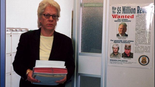 Karla Del Ponte, glavna tužiteljka MKSJ