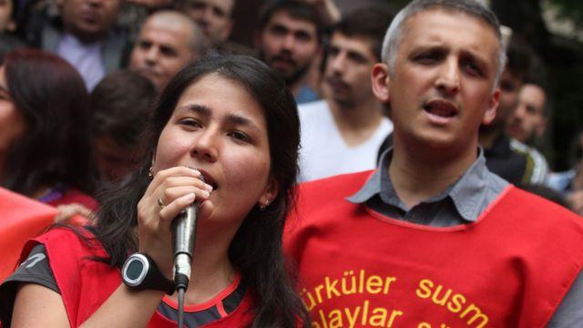 İbrahim Gökçek, 2015 yılında Ankara'daki konserde.