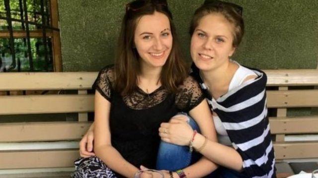 Viktoria Savchenko y Polina Serebryannikova