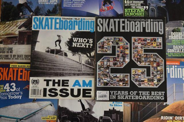Naslovnice Transworld magazina