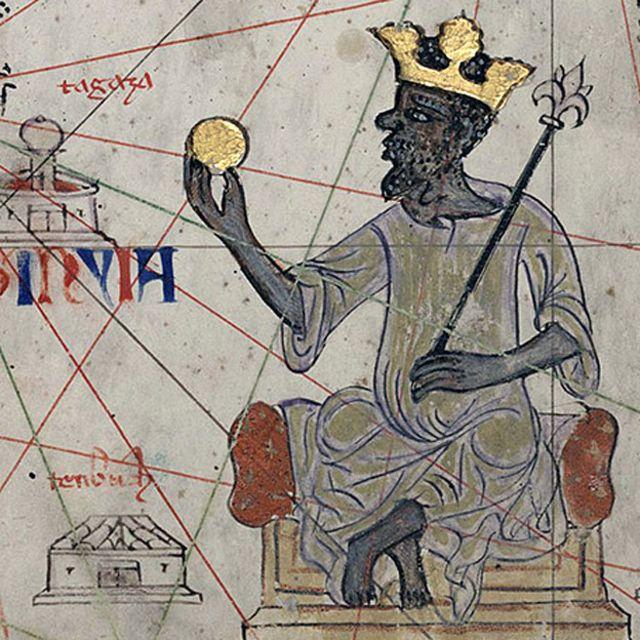 యూరోపియన్ చిత్రాలలో మొదటి మన్సా మూసా