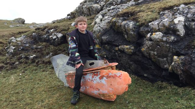 US Navy equipment found in Tiree beach clean