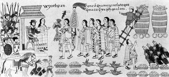 La Malinche en un códice prehispánico