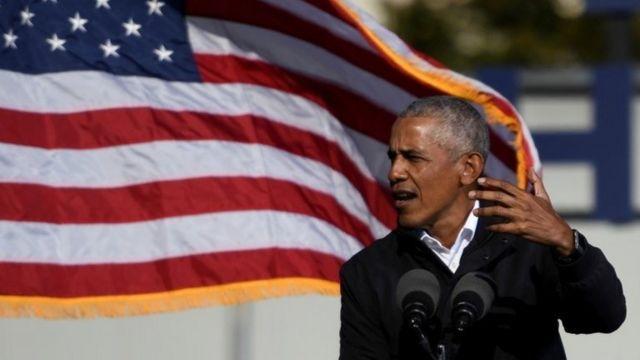 آقای اوباما در هفته های آخر مبارزات انتخاباتی به نفع جو بایدن کمپین کرد