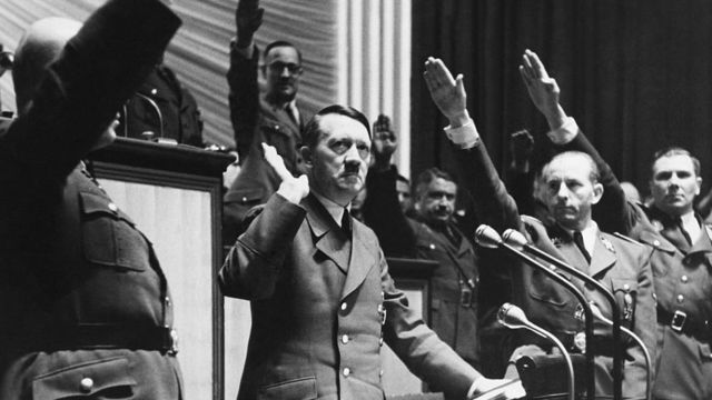 DECEMBER 11: Speech Of Hitler The Day Of War Declaration Against United State In Germany On December 11St 1941 (Photo by Keystone-France/Gamma-Keystone via Getty Images)