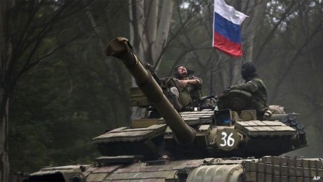 Росія заперечує участь своїх регулярних військ на сході України
