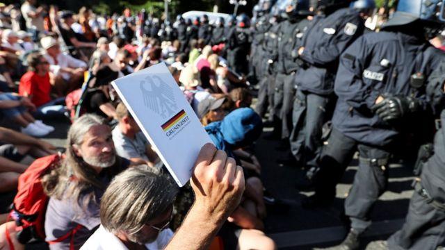 Протест в Берліні 1 серпня