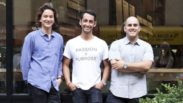 Nathaniel Ru, Jonathan Neman dan Nicolas Jammet