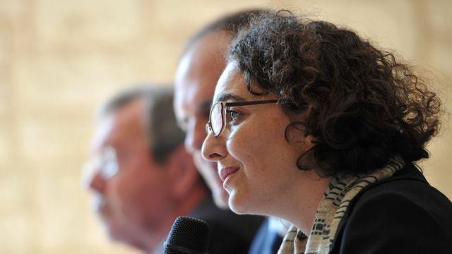 La zar antiextremismo de Francia, Muriel Domenach