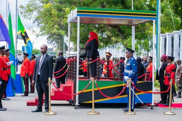 Samia Hassan amaze kurahirira gutegeka Tanzania