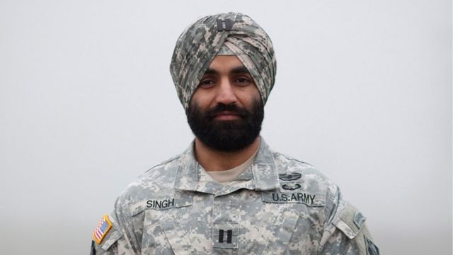 Sikh soldier wins right to wear turban in US army