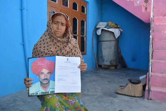 चमेल सिंह की विधवा कमलेश देवी