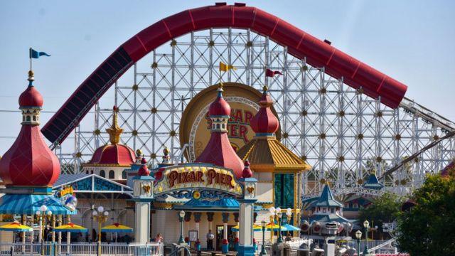 Parque temático de Disney.
