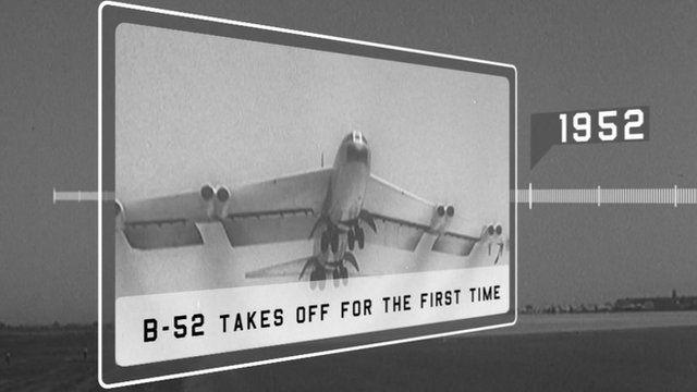 B 52 takes off