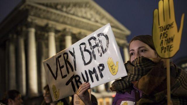 مظاهرة ضد ترامب