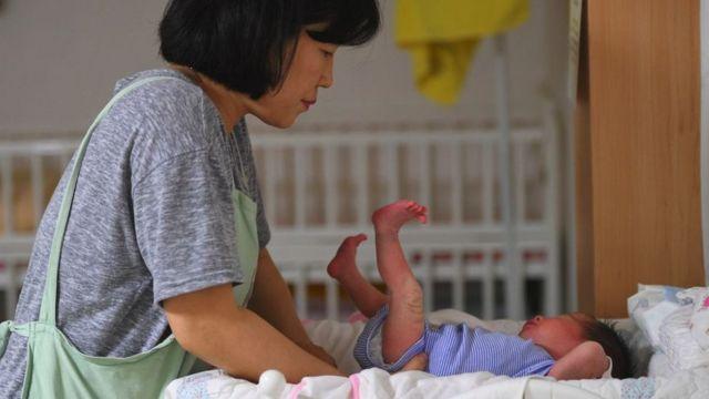 Güney Kore bebek