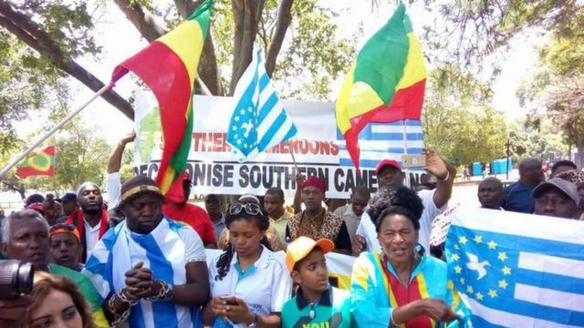 Since October 1, 2017 wey di group declare freedom from La Republic na im katakat increase for southern Cameroon