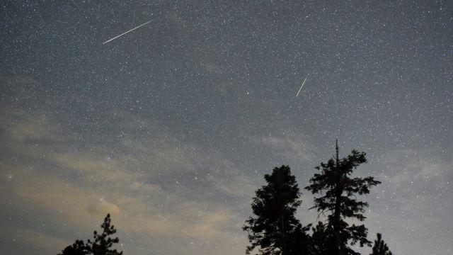 Lluvia meteoritos