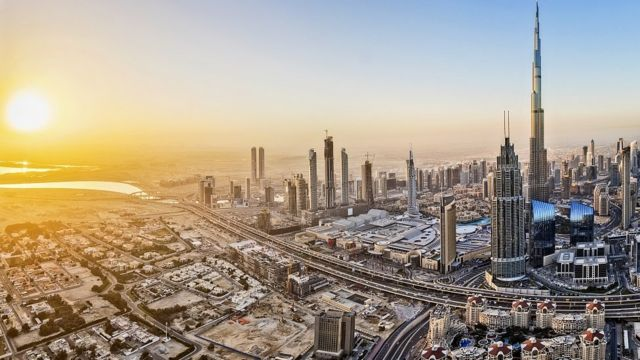 Cityscape image of Dubai