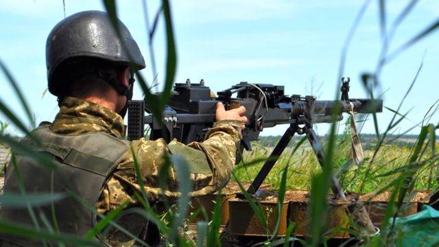 Утром 20 июля под Красногоровкой Донецкой области произошел бой