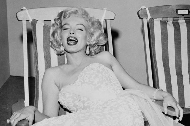 Marilyn Monroe por Frank Worth