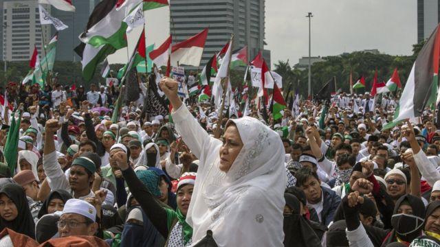 Jakarta, Indonesia, Palestina
