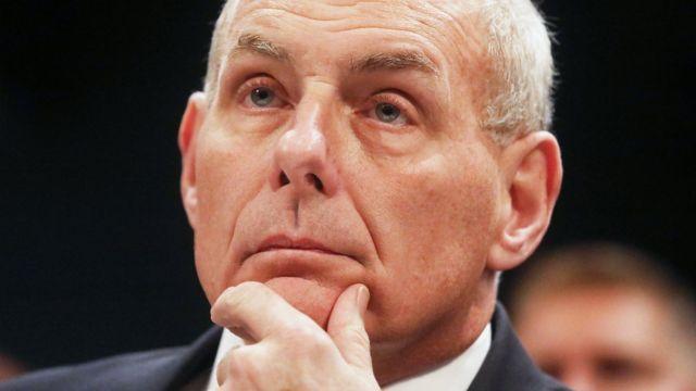 Bộ trưởng An ninh Quốc nội Mỹ John Kelly