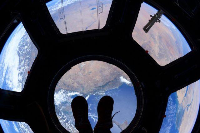 Vista desde la Estación Espacial Internacional.