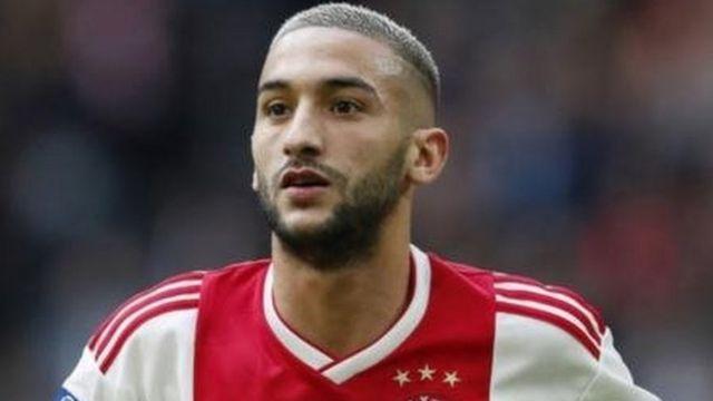 Kiungo hatari wa klabu ya Ajax na Morocco hakim Ziyeck