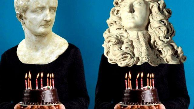 Древние римляне (статуи)