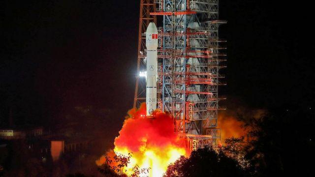 Старт китайской лунной экспедиции