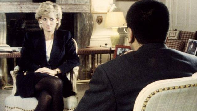 Princess Diana and Martin Bashir