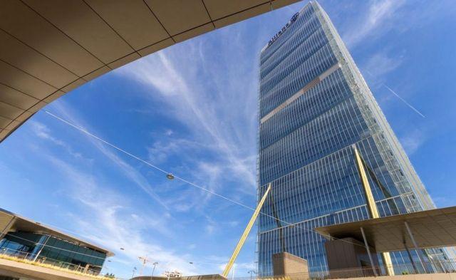 Arata Isozaki's Allianz Tower in Milan, Italy