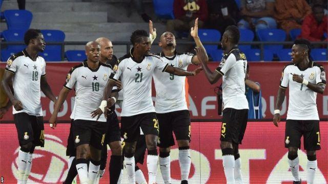 Ghana iriko irigina igitego gitsinzwe na Jordan Ayew