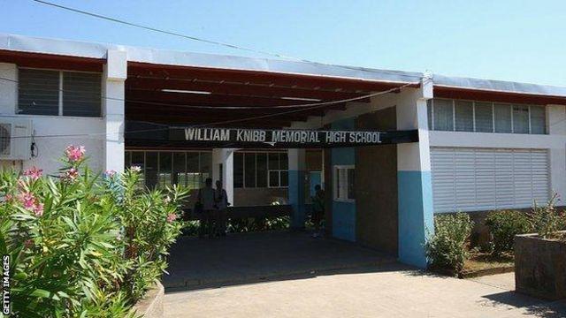Школа, где учился Болт - William Knibb Memorial High School