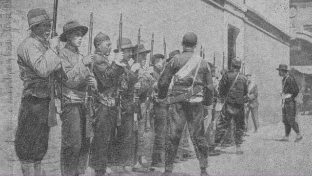 Китайские партизаны (фото из книги М.И.Губельман Борьба за советский Дальний Восток)