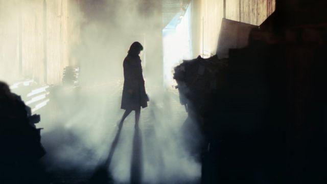 Mujer misteriosa