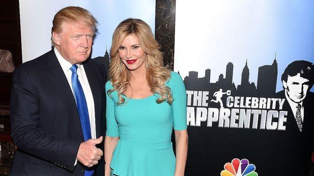 Trump en televisión
