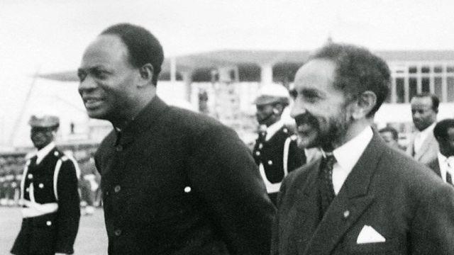 Hayilasillaasee fi Kwaamee Nikruumaa wayita Dhaabbatni tokkummaa Afrikaa Hundaa'u