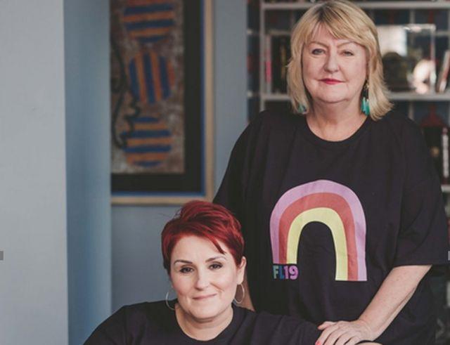Claire Goodwin-Fee y Ellen Waldren