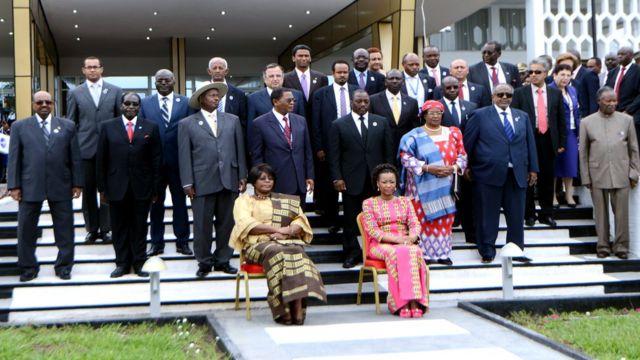 Abakuru bitavya inama ya COMESA mu 2014 i Kinshasa