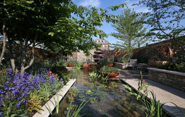 The Silent Pool Gin Garden
