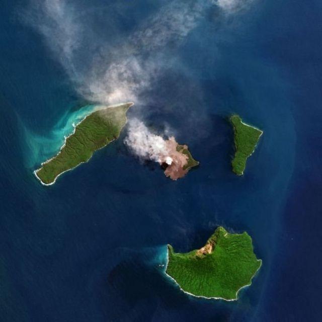 क्रेकाटोआ ज्वालामुखी