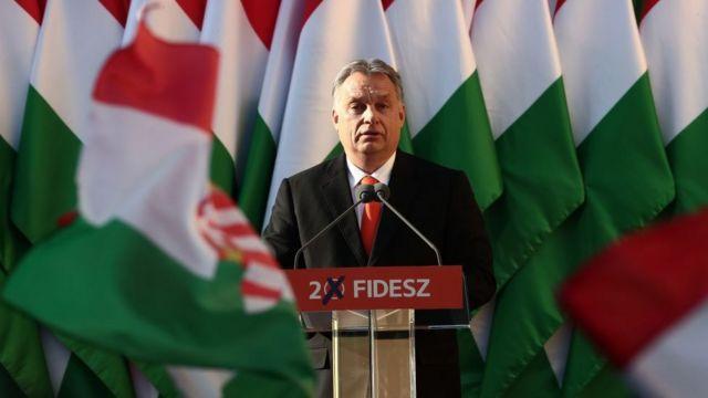 Орбан на митинге сторонников