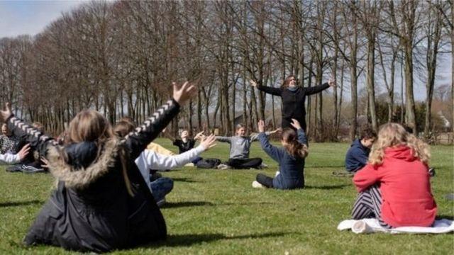 Датские школьники