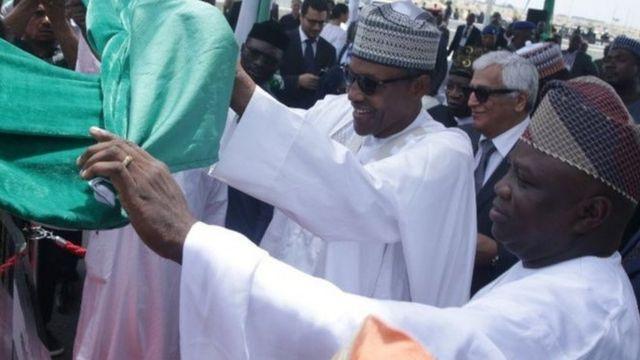 Ambode ati Buhari