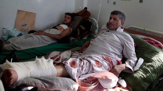 مصابين في حرب اليمن