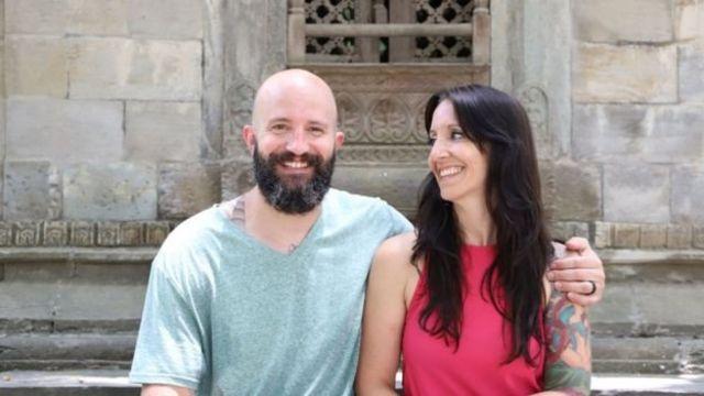 Matthew Hahn ve eşi Noelle